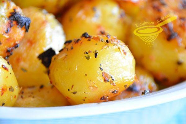 Chrumkavé zemiaky pečené na masle - To je nápad!