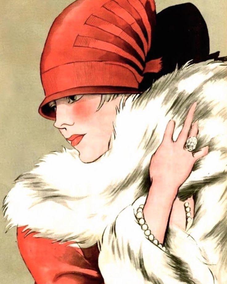 Mademoiselle Pierrette Madd, chapeau Le Monnier, illustration Soulié, 1926 #vintagehat #lemonnier #milliner #vintagefashion #fashionillustration #fashion1926 #fashionhistory #1920sfashion #soulié #pierrettemadd