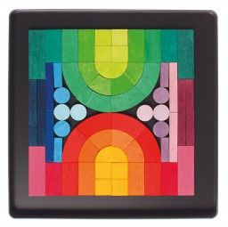 Magnetic Romanesque Puzzle – Notes From a Home Educator