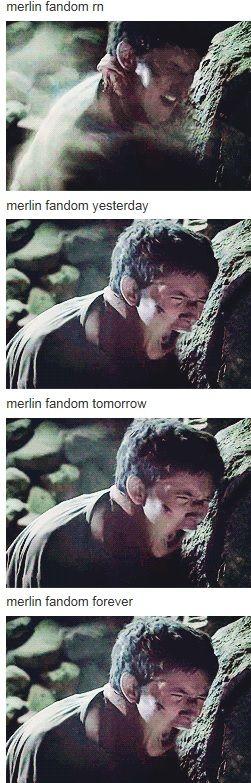 Always. Oh, Merlin. Bliss and heart break all in one. . . .