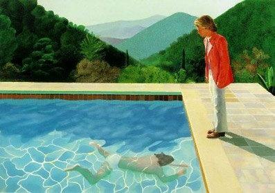 David Hockney Swimming Pool
