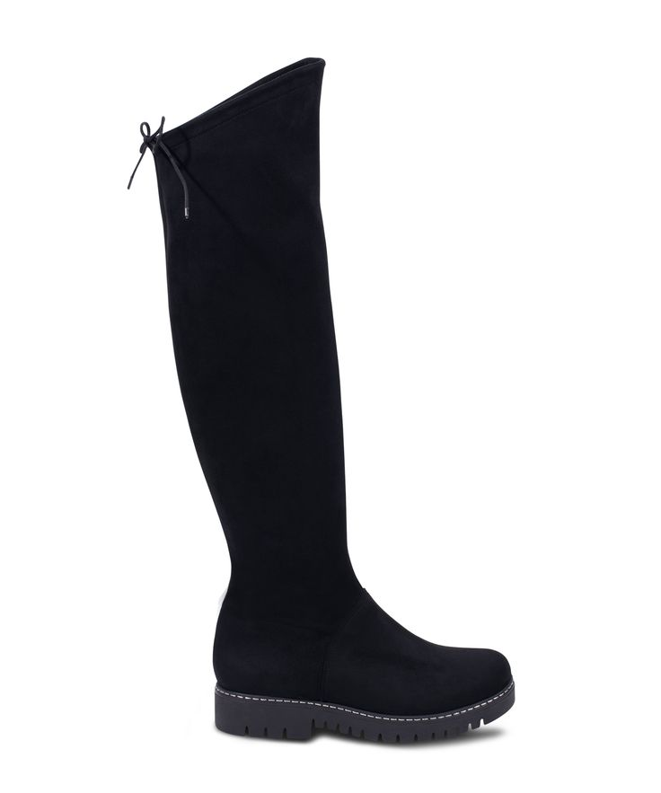 CARAD flat boot for comfy walks... Black