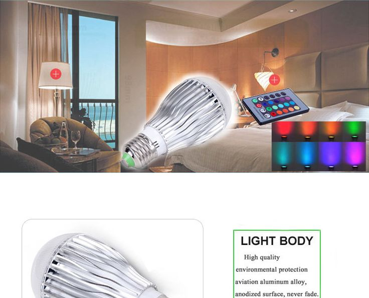 Buy china wholesale dimmable 5w e27 remote control 16 color rgb led bulb light LED Residential Lighting on bdtdc.com