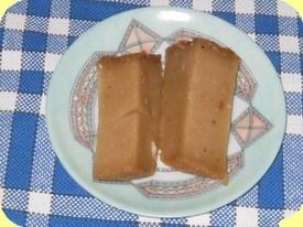 Godro-godro - A firm, cake-like coconut milk pudding found in Comoros, Madagascar.