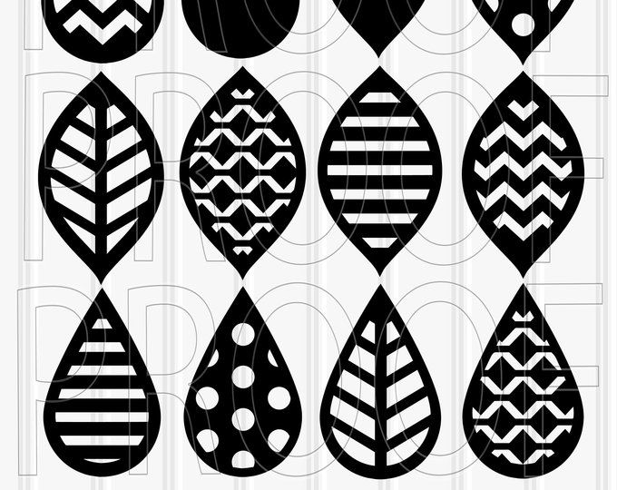 Pin On Earring Svg