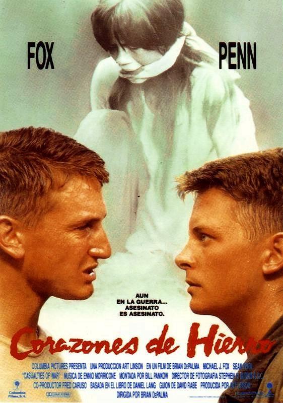 Corazones de hierro (1989) EEUU. Dir: Brian de Palma. Drama. Bélico. Guerra de Vietnam - DVD CINE 934