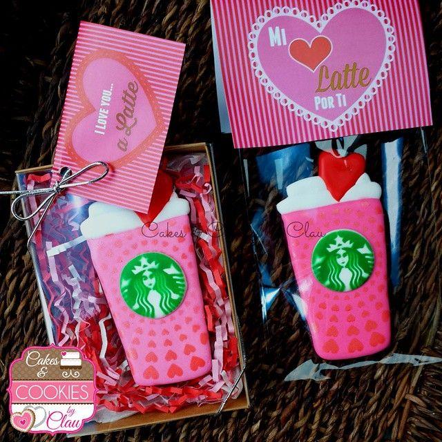 Starbucks Valentine's Day cookies