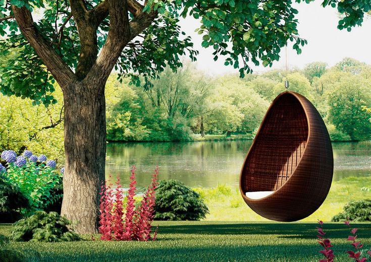 Fotel wiszący – idealny dodatek do ogrodu
