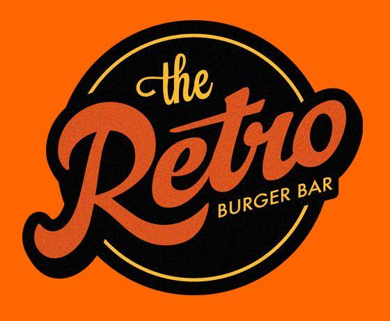 Retro burger