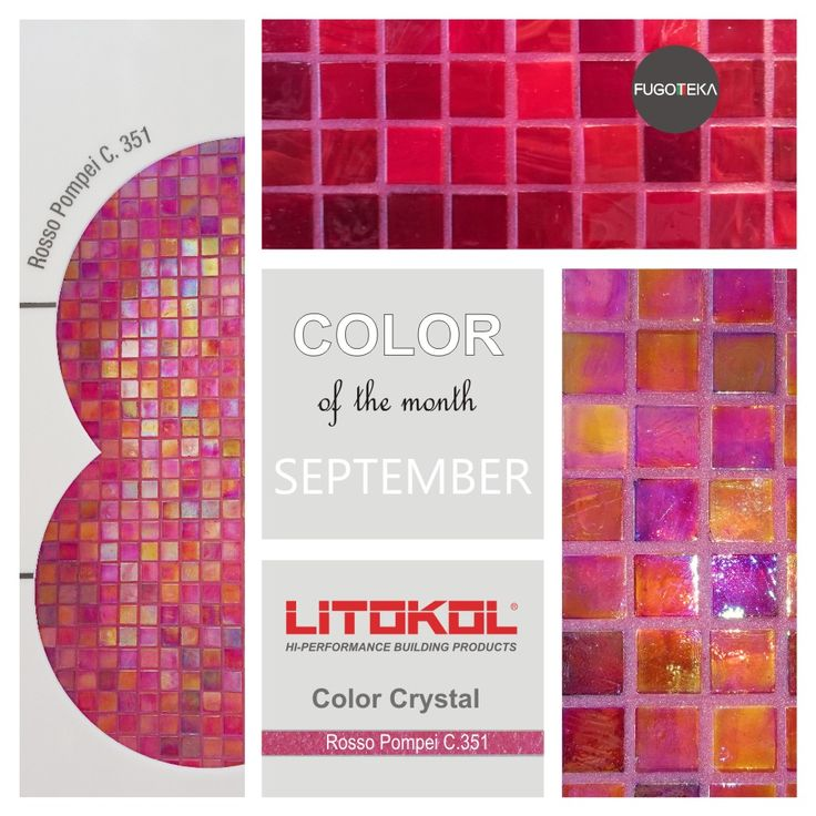 Color September - Litokol Starlike Color Crystal