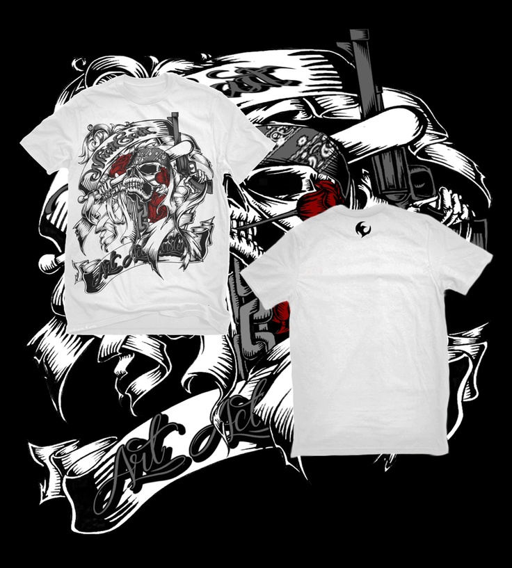 WHAT EAST Version | SKULL AND ROSES | Local made, the international quality | Original Art Design by What East artist team | Materials made of Cotton Combat, Woven Label and Plastisol Ink | White Color | Available size M, L & XL | IDR 135.000,00 normal | IDR 125.000,00 in June promo | Out now! And you just pay me only IDR 120.000,00 in May promo season (best time to buy) | Contact Person: Awank +62857 6158 3993
