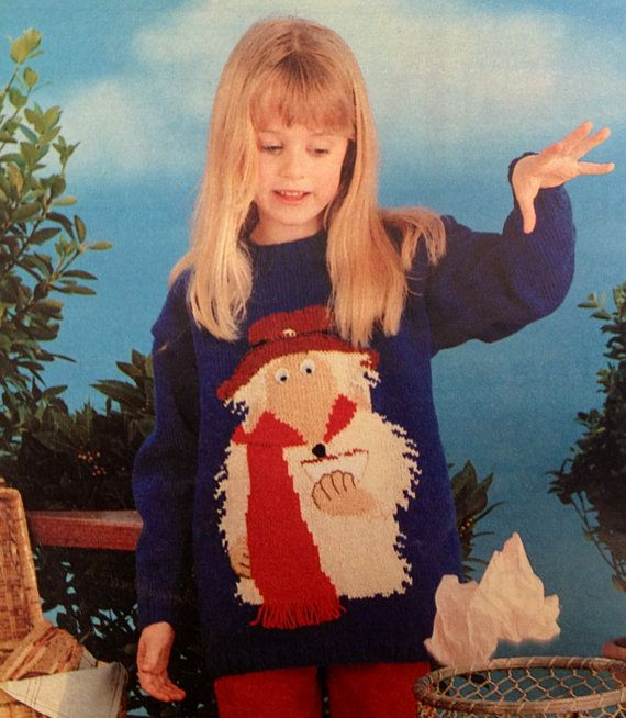 Orinoco from The Wombles jumper knitting pattern PDF by ECBcrafts