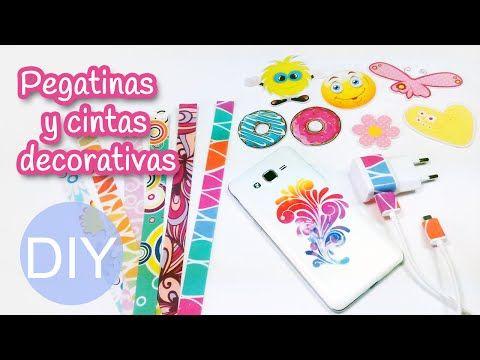 Manualidades: PEGATINAS y CINTAS DECORATIVAS caseras - Innova Manualidades - YouTube