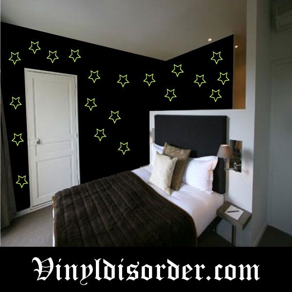 Different from my review but a good one! Glow in the Dark Star Vinyl Decal Mural Kit GDK43 $19.99