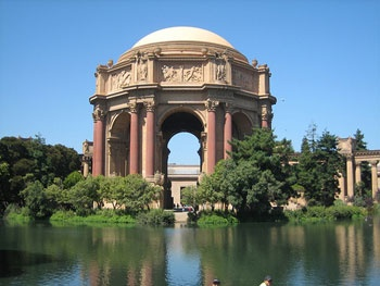 San Francisco...Palace of Fine Arts. Such a beautiful, perfect place for taking pictures!!