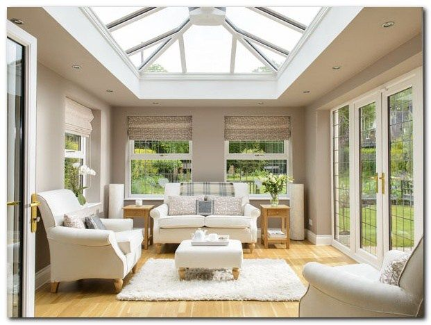 70 Awesome Roof Lantern Extension Ideas Conservatory Interior
