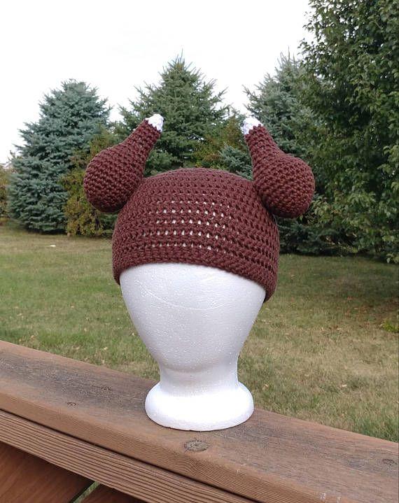 Turkey hat beanie, crocheted cotton yarn, premie - adult large sizes, Thanksgiving, fall, crochet hat, handmade novelty hat, photo prop