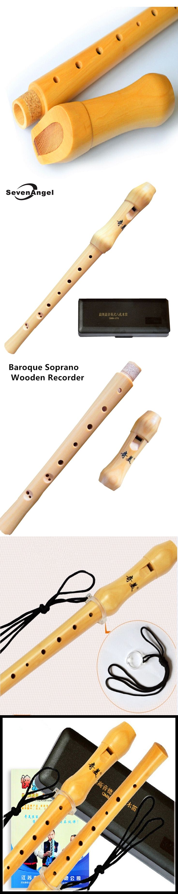Wooden Flute High-pitched German-style 8 hole Clarinet Flute C Key Chinese Vertical Flute Wood Musical Instruments Wooden Flute