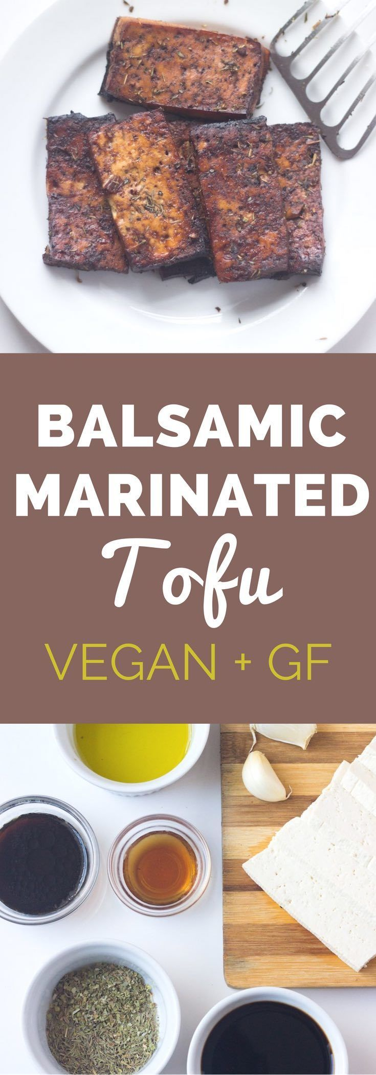 Make a batch of this easy vegan marinated tofu to have on sandwiches, salads, or served with rice or quinoa.