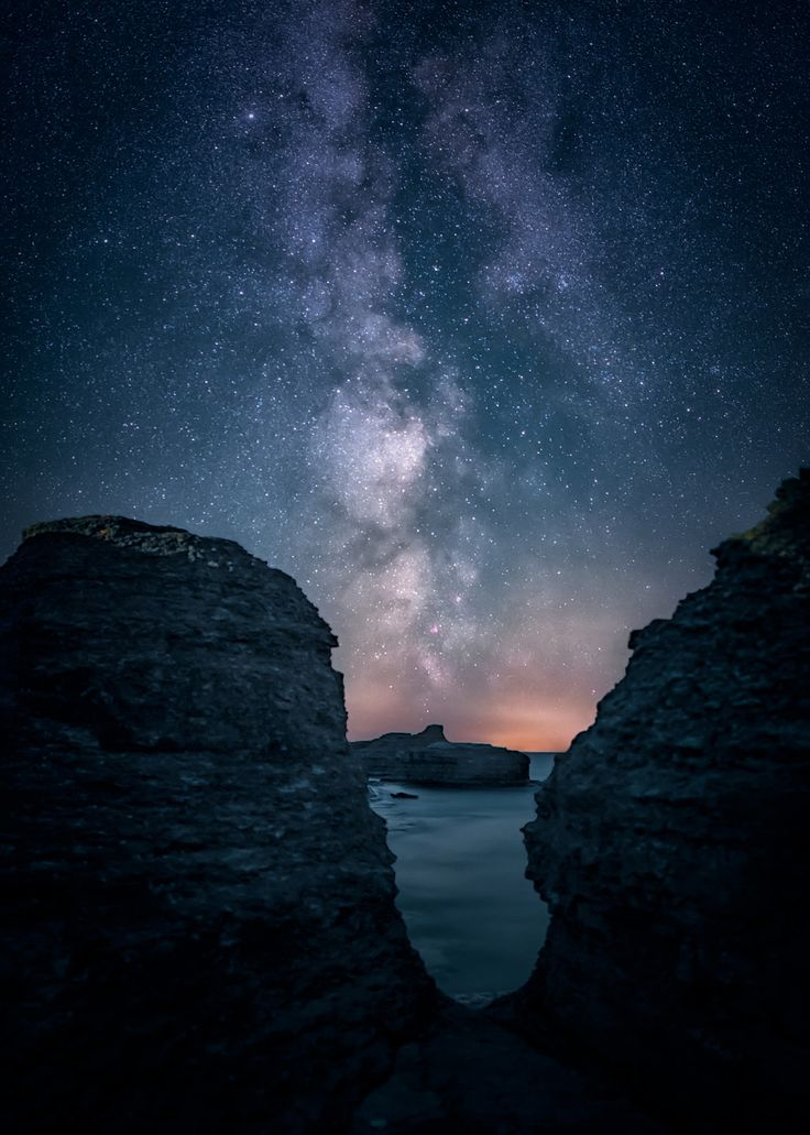 """Limestone Rauks - The milky way rises behind the limestone rauks at Byrum, island of Öland, Sweden. Keep up to date with my latest photos on <a href=""""https://www.facebook.com/tannerstedtphoto"""">Facebook </a> or follow <a href=""""https://instagram.com/tannerstedtphotography""""> my Instagram</a>"""