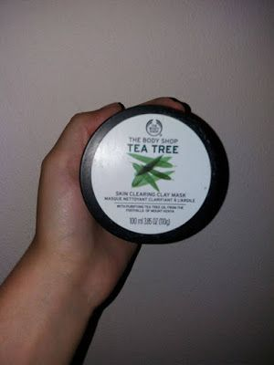 Magic Makeup World💄 |: REVIEW: The Body Shop - Tea Tree Skin Clearing Cla...