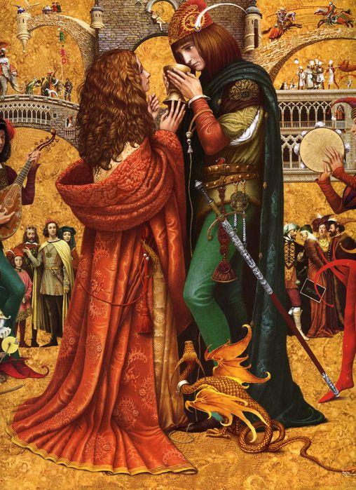 "Vladislav Erko - artist from Ukraine - this illustration is from the book ""Legends of Foggy Albion"" (Легенды Туманного Альбиона)"
