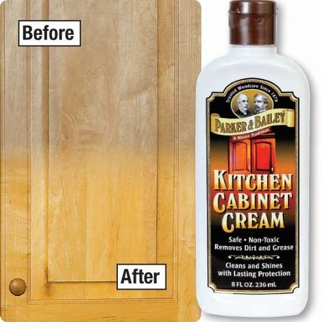 Kitchen Cabinet Cleaner