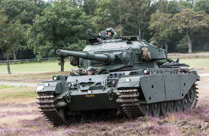 The Centurion (1945) British main battle tank of the post-Second World War period.