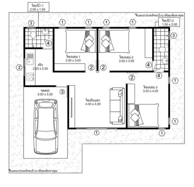 House Plans Idea 10x9 With 3 Bedrooms Sam House Plans House Plans Insulated Garden Room How To Plan