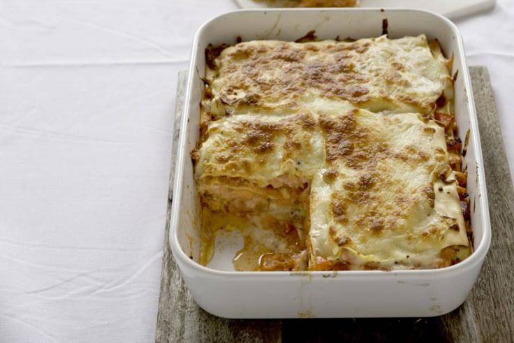 Lasagne met verse en gerookte zalm - Recept - Allerhande