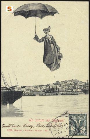Mary Poppins Before it was cool! - Cagliari, panorama della città