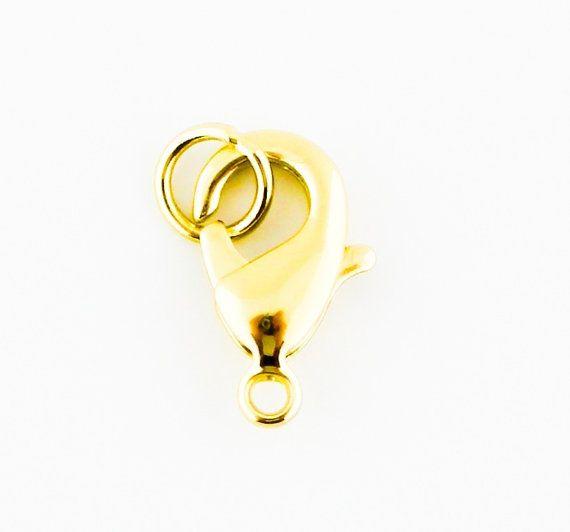10 pcs 12mm 15mm Gold Plated Korean by FancyGemsandFindings, $6.99