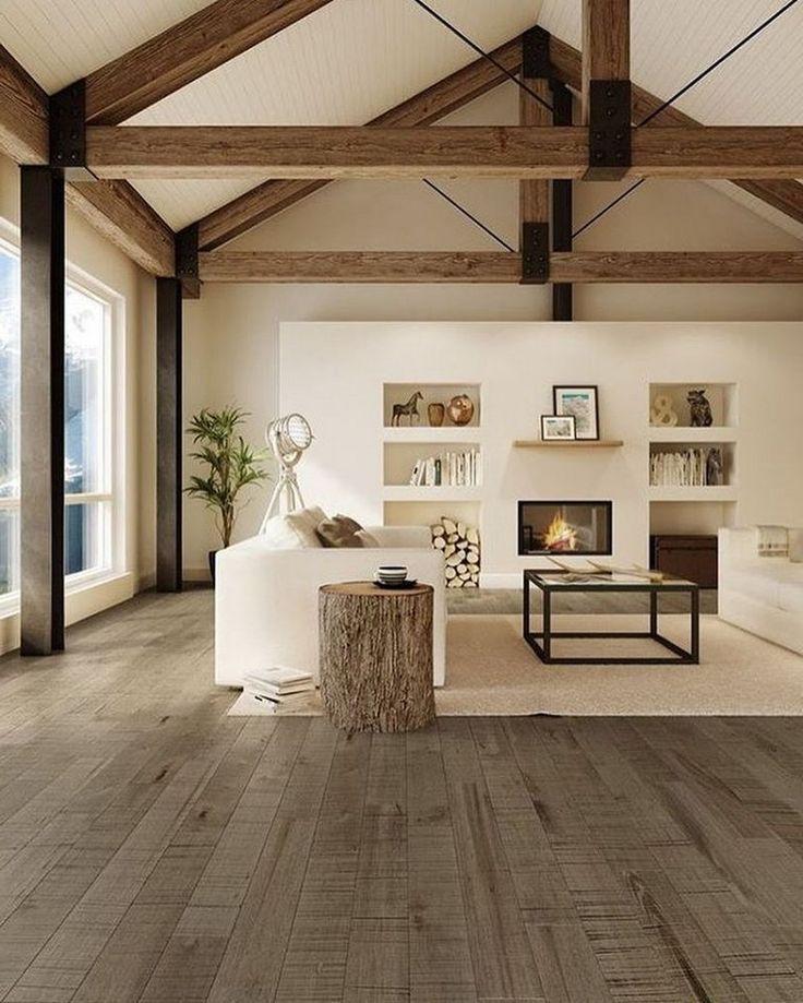 35+ Schönes Bauernhaus-Design-Interieur, das Sie komfortabel machen wird