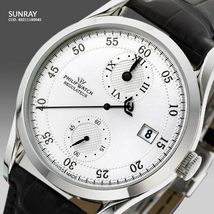 L'orologio Philip Watch è un piccolo capolavoro di perfezione meccanica grazie al movimento automatico Régulateur!!!  #ParrottaGioielli #beloved #siderno