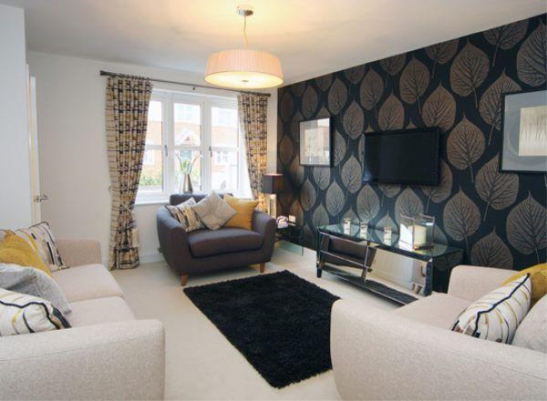 Living room @ Westgate in Wareham by Bloor Homes