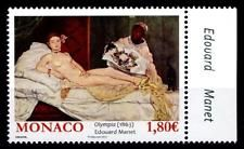 Olympia, Gemälde Edouard Manet. 1W. Rand(8). Monaco 2012