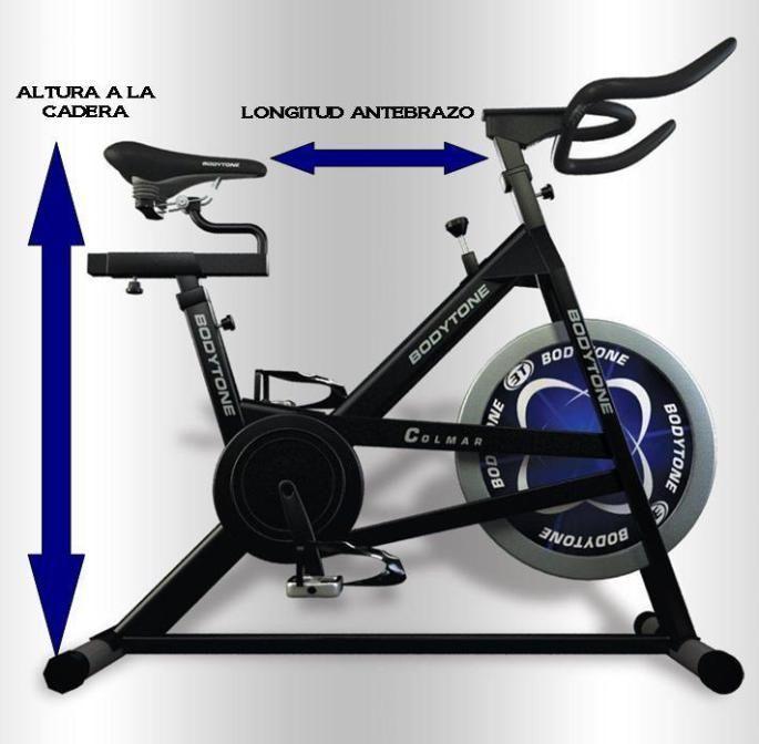 Los ajustes de la bici de spinning o ciclo indoor antes de comenzar a entrenar #indoorbikingworkout