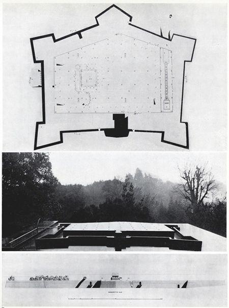 Concorso per la sede della Mostra dell'Artigianato    Archizoom Associati    Fortezza da Basso (Antonio da Sangallo Il Giovane,1534)    [Firenze, 1968]