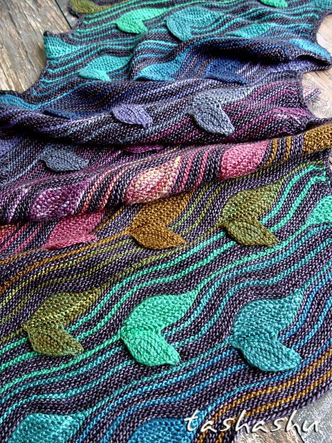 Snood Forest witch pattern by Svetlana Gordon | malabrigo Mechita