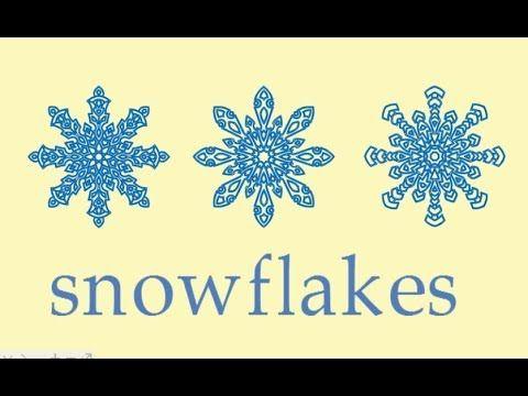 Сніжинка, як намалювати сніжинку, як намалювати красиву сніжинку крок за...