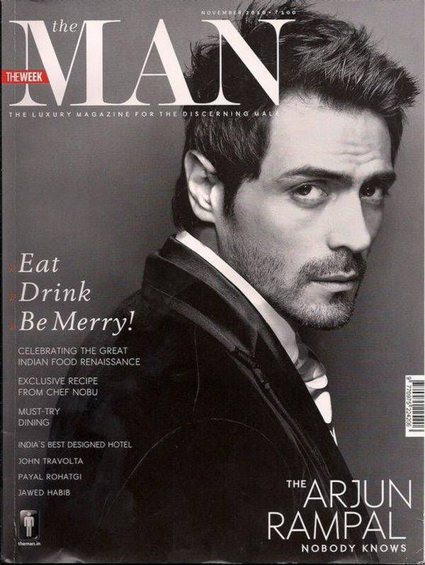 I want this magazine!    Arjun Rampal.