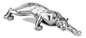 Piękna srebrna figurka Pantery stanowi doskonały prezent z okazji urodzin. #dla_kobiety #dla_mezczyzny #dla_szefa