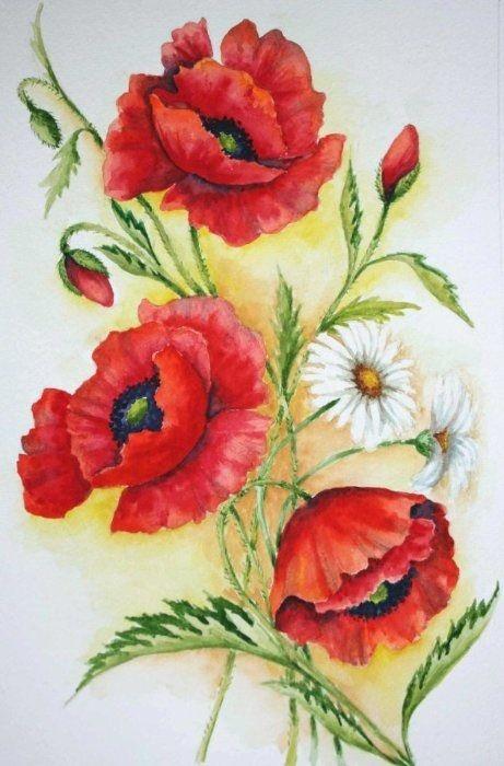 Gallery.ru / Фото #108 - Поглядите, там и тут, маки красные цветут! - Anneta2012