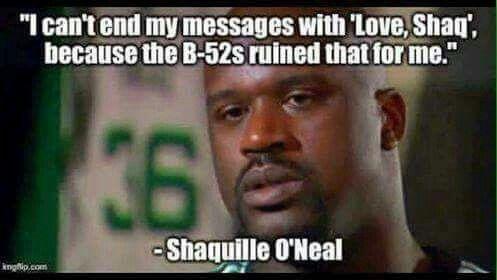 Shaquille O'Neal. Love Shaq