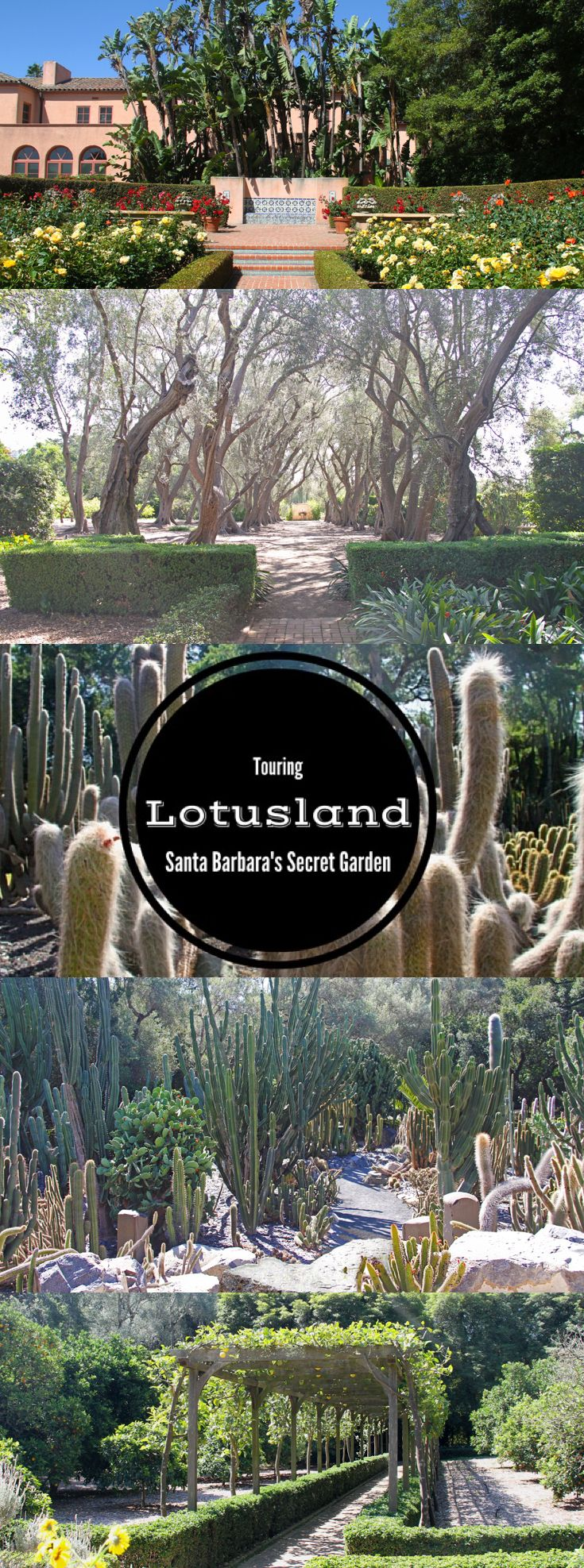 Touring Ganna Walska Lotusland is a must when visiting Santa Barbara. The 32-acre garden is among Santa Barbara's best kept secrets. #Travel #California