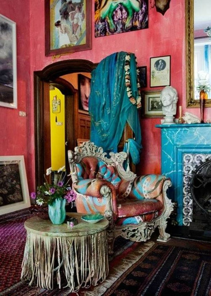 17 Best Images About Bohemian Decor On Pinterest | Peacock ...