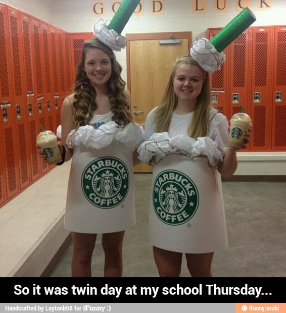 So it was twin day at my school Thursday... / iFunny :)