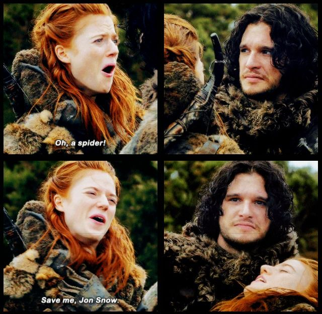Save me, Jon Snow.