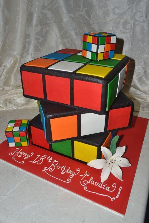Rubik S Cube Cake D Cakes