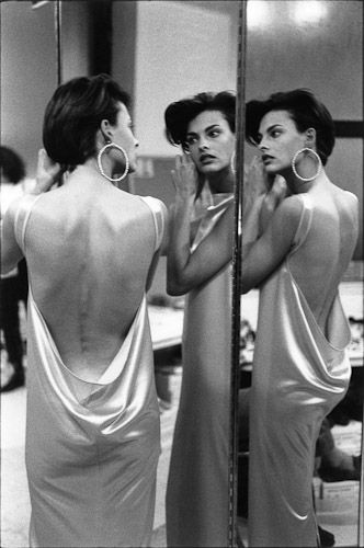 Linda Evangelista at Izaac Mizrahi, New York (1990)